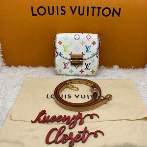 Louis Vuitton Multicolore Heartbreaker white bag